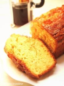 Kumquat Marmalade Loaf Cake