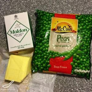 Fried Green Peas (Жареный зеленый горох) ingredients