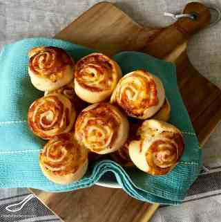 Ranch Ham and Cheese Rolls
