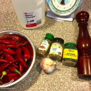 Quick Pickled Chillies