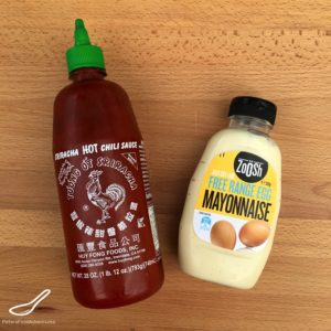Sriracha Mayo Recipe ingredients
