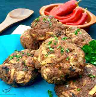 Beef & Potato Kotleti Meat Patties (Котлеты)