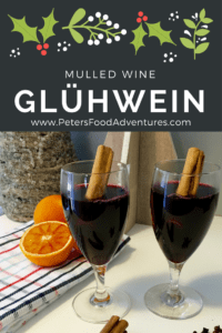 A Swiss-German Hot Mulled Wine that is enjoyed during the holidays, or when it's cold outside. Similar to Glogg, Quentao, Vin Chaud and Glintwein. Perfect for the holidays, It tastes like Christmas in a cup. Gluhwein Mulled Wine (Глинтвейн)