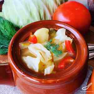Vegetarian Cabbage Soup – Shchi