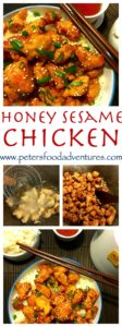 Homemade Honey Sesame Chicken, Who needs takeout? Step by step recipe for a sweet and sticky family dinner favourite. Boneless Chicken, honey, garlic, soy and sesame, served over rice.