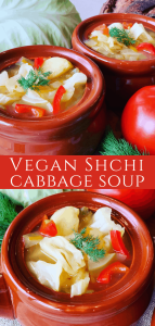 Vegan Shchi Cabbage Soup