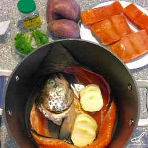 Rustic Russian Fish Soup and Broth made with Salmon and Trout, enjoyed for hundred of years - Ukha Russian Fish Soup (Уха)