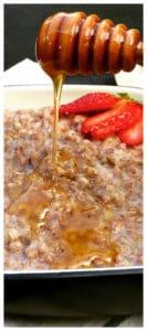 A Russian and Eastern European Breakfast Kasha Porridge. Incredibly Healthy, Low GI, and Gluten Free Superfood! Buckwheat Porridge with Milk (Гречневая каша)