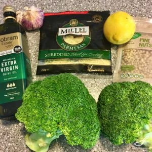 Parmesan Roasted Broccoli ingredients