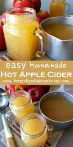 The aroma fills your whole house with this classic American spiced drink, especially popular during Thanksgiving and Christmas. This non-alcoholic mulled apple cider recipe is perfect for a cold chilly night, made with naturally cloudy apple juice - Easy Hot Apple Cider Recipe