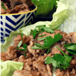 Simple and delicious, Easy San Choy Bow or Asian Chicken Lettuce Cups are a classic Chinese meal that the whole family loves. Low carb and healthy.