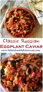 recipe: baklazhannaya ikra russian eggplant caviar [18]