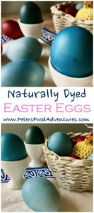 Naturally Dyed Easter eggs with Red cabbage! It's Easy Dying Easter Eggs naturally, making beautiful blue Easter eggs, naturally dyed without harsh chemicals
