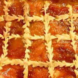 Apricot Jam Slice