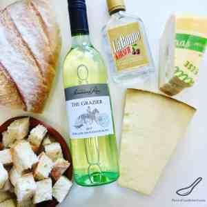 Swiss Cheese Fondue Ingredients