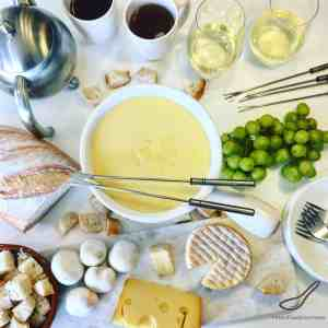 Classic Cheese Fondue Recipe