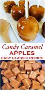 Caramel Apples are a family autumn favorite, perfect for halloween and parties. An easy fall classic the whole family will love - Kraft Caramel Apples