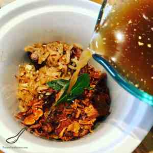Fall Apart Tender Slow Cooker Beef Brisket with Wild Mushrooms (Chanterelles) is an easy recipe that saves you time. Set and forget, rich in flavor cooked in au jus, melts in your mouth.
