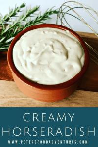 Creamy Horseradish Sauce Recipe