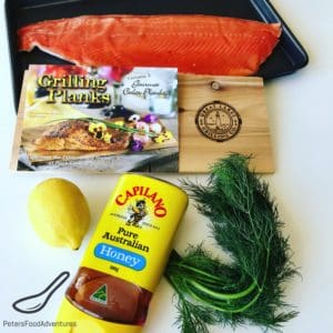 A Cedar Plank Trout Fillet recipe adds a wonderful smokey infusion to your Steelhead trout fillet or Salmon fillet. Using honey, lemon and dill, the perfect flavors for a healthy dinner recipe.