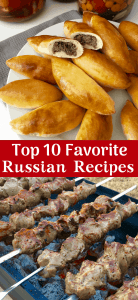 Top 10 Russian recipes from World Cup Soccer in Russia. From Borscht, Shashlik to Pelmeni dumplings, from Russia with Love!