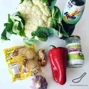 Thai Cauliflower Rice ingredients