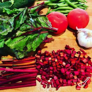 Can you eat beet leaves and stems?