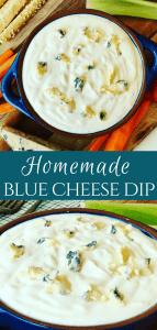 Homemade Blue Cheese Dip