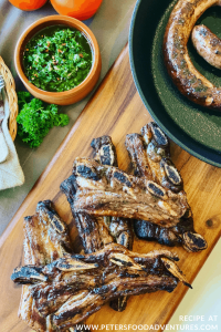 Grilled Beef Ribs