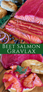 Beet Salmon Gravlax