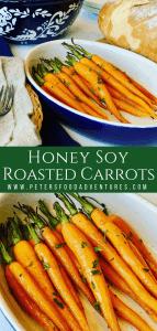 Honey Soy Carrots Roasted