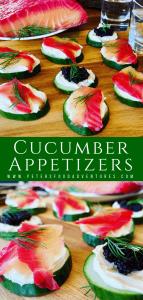Cucumber Appetizers Bites