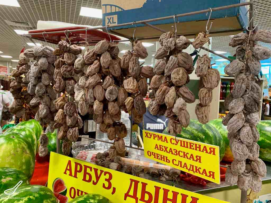 Dried Persimmons in Sochi