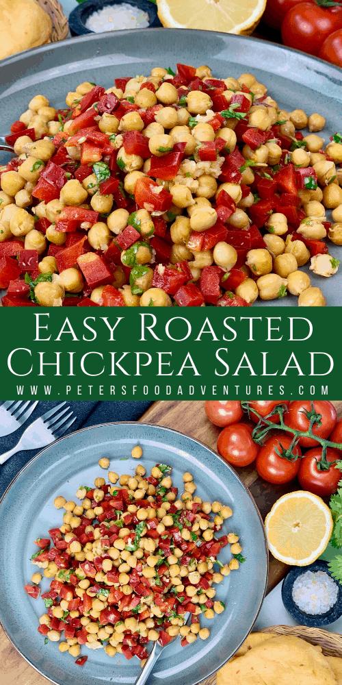Easy Roasted Chickpea Salad