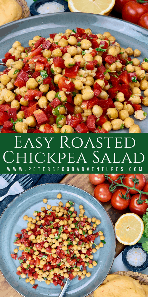 Easy Roasted Chickpea Salad