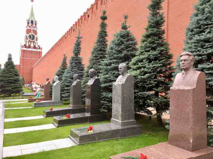 Kremlin Cemetary Necropolis