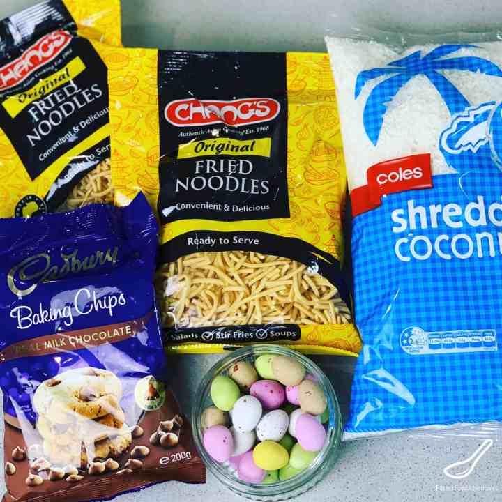 Birds Nest Ingredients Chow Mein