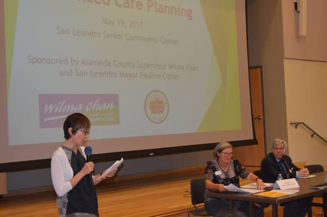 Jodi Phillips, our senior estate planning attorney, gave a presentation at the San Leandro Senior Center as part of Supervisor Wilma Chan's Advanced Care Planning Event in San Leandro