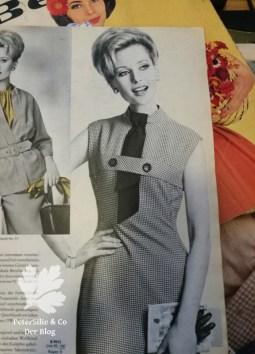 Neuer Schnitt, Vintage Kleid Vichy Karo