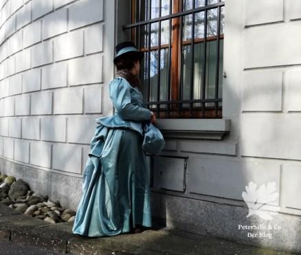 Kleid nähen Belle Époque 1880