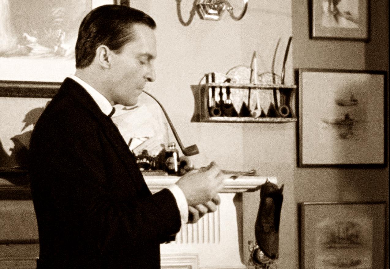 248. Jeremy Brett's Sherlock Holmes Smokes a Peterson Churchwarden