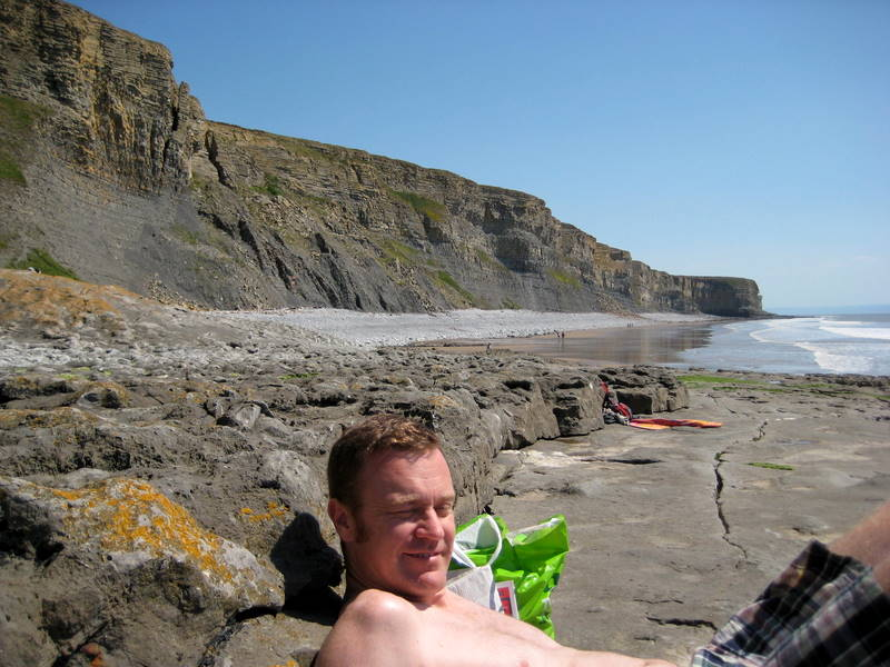 Glen on Southern Welsh Coast