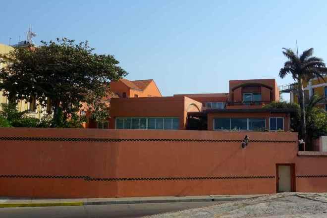 Cartagena, Haus von Gabriel García Marquez. Die letzten Jahre lebt er in Mexiko-Stadt, wo er im April 2014 verstarb.