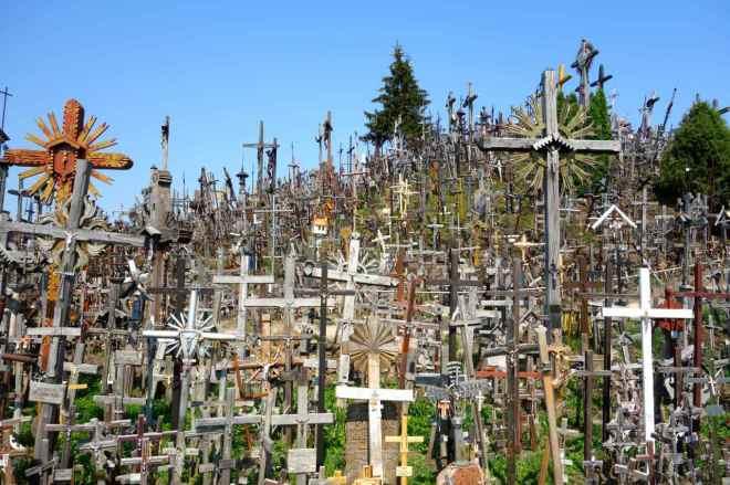 Litauen, Berg der Kreuze
