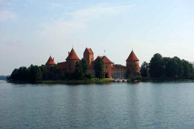 Trakai mit Wasserschloss