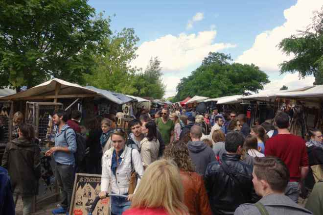 Flohmarkt Mauerpark, Berlin