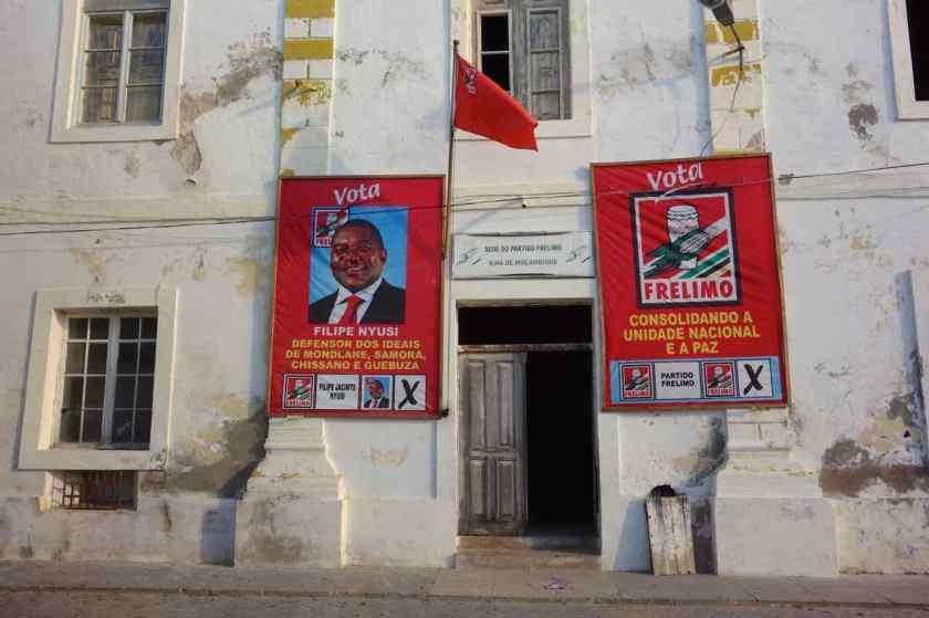 Mosambik, Ilha de Mosambik, Parteizentrale