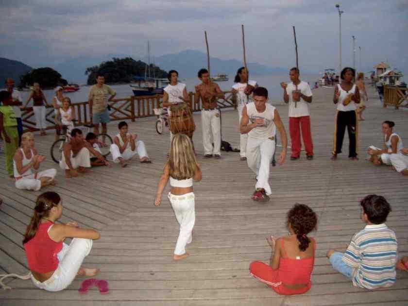 Ilha Grande Brasilien Anreise, Capoeira