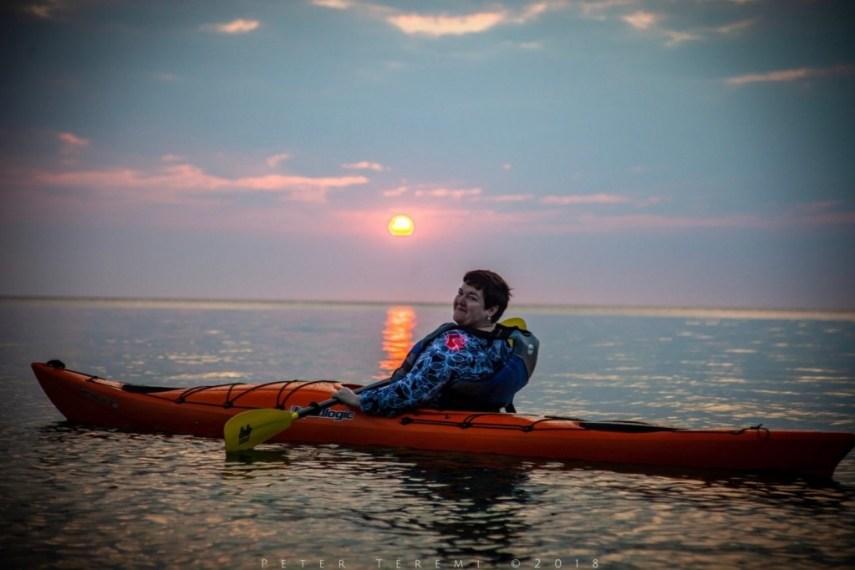 Sunrise Kayak Tour On Lake Huron