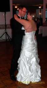 Lindsay and John's first dance